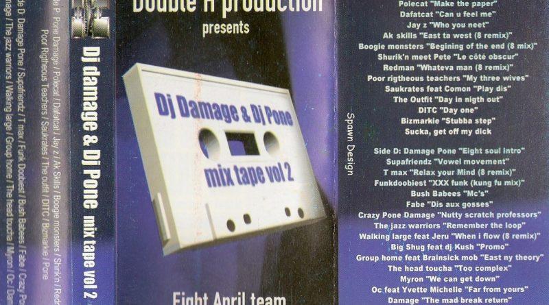 1998 – Dj Damage & Dj Pone – Mixtape Vol 2 – ERROR322