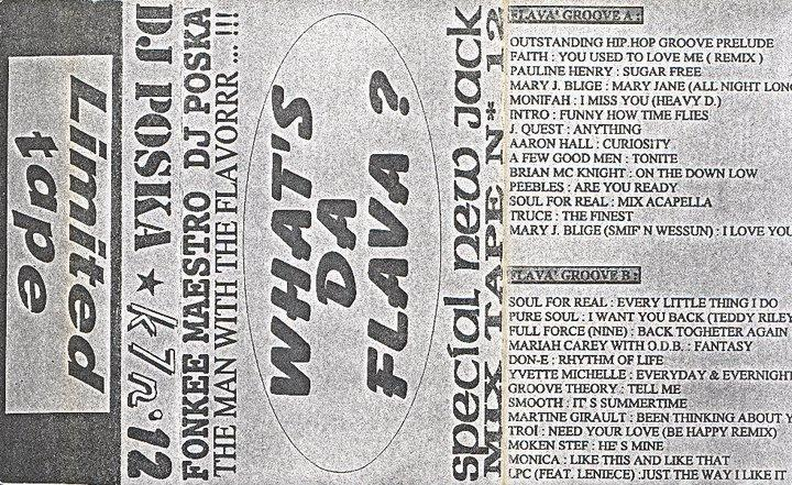 1995 – Dj Poska – What's The Flavor Vol 12 – ERROR322