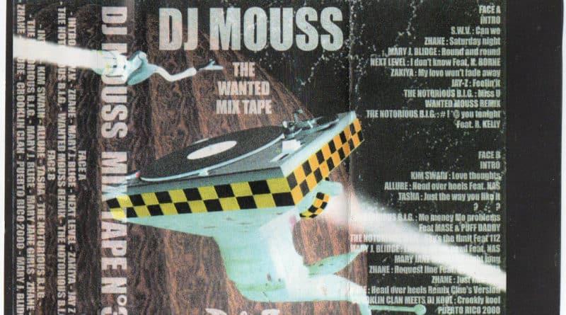 1996 – Dj Mouss -The Wanted Mixtape R&B #3 – ERROR322