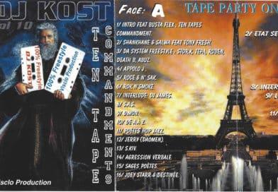 1998 – DJ Kost – Vol 10 – Ten Tape Commandments (double K7)